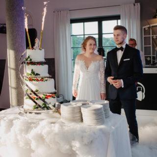 Ślub Klaudii i Radka w Starej Kaszarni w Człuchowie