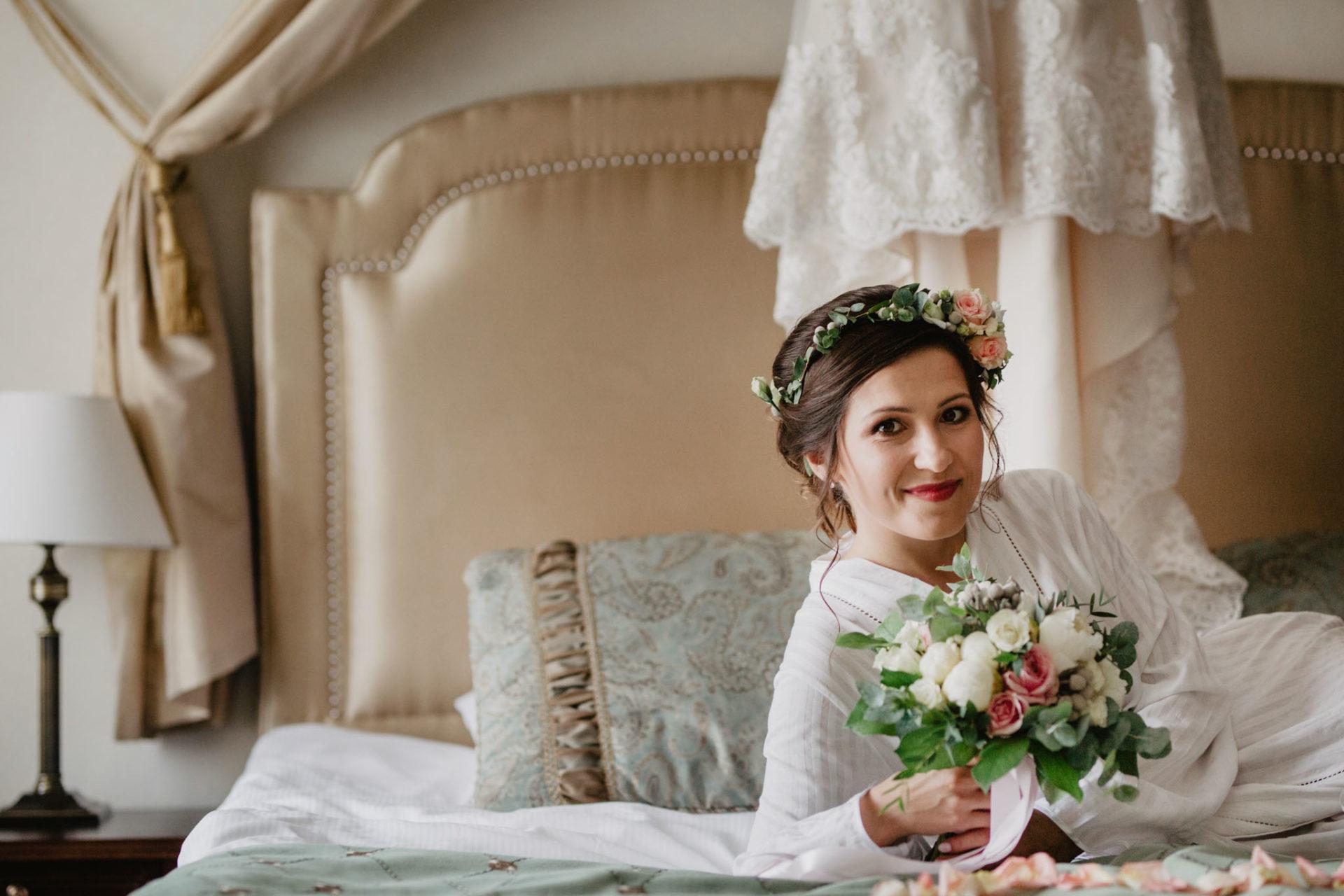Przygotowania Lili w Pałacu Romantycznym