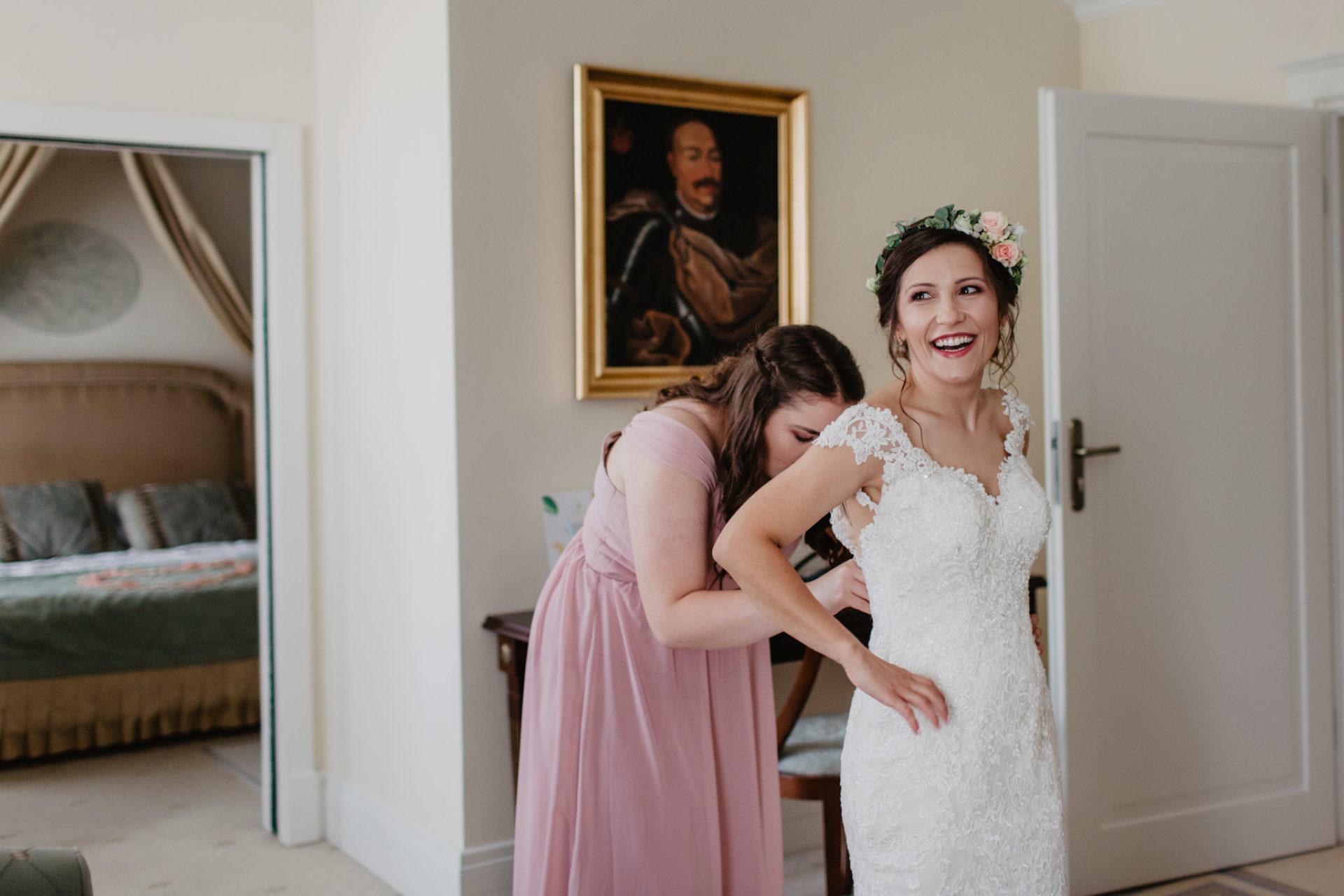 Ślub polsko - angielski w Pałacu Romantycznym