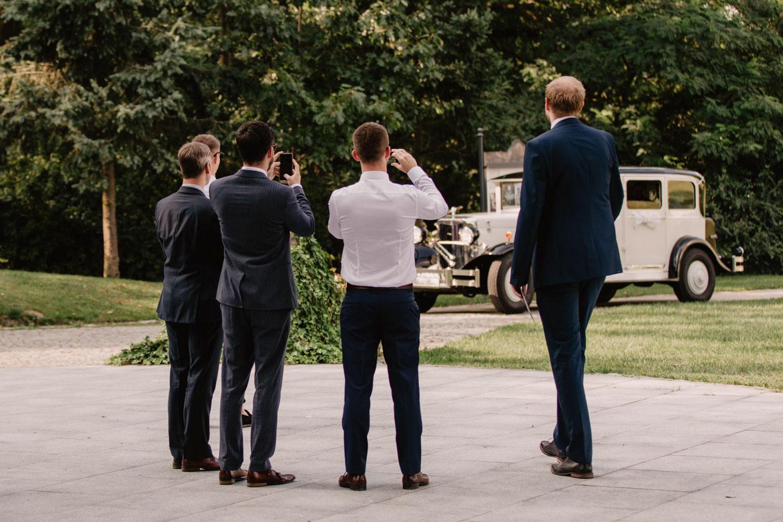 Ślub w Pałacu Romantycznym, fotografia ślubna