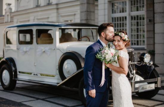 ślub plenerowy w Pałacu Romantycznym