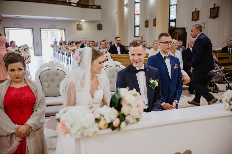 Ślub w Parafii Matki Boskiej Częstochowskiej w Bydgoszczy