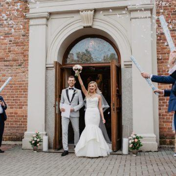 ślub Pauliny i Mateusza w Kościele św. Brbary w Częstochowie