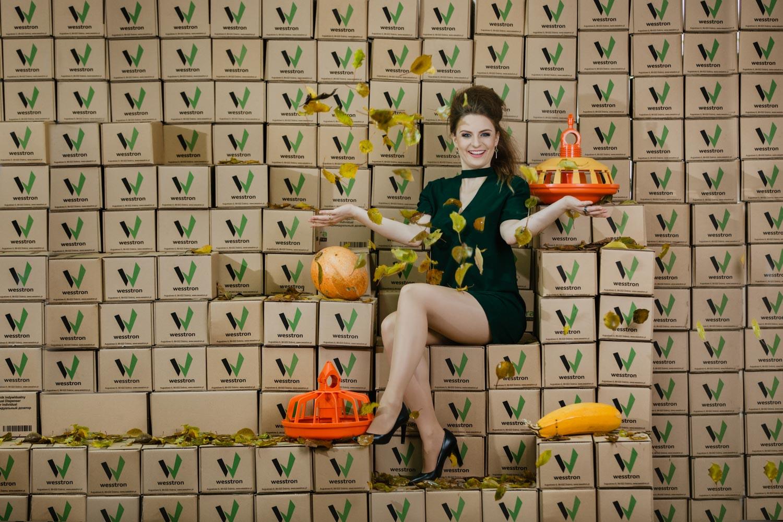 Zdjęcia reklamowe do kalendarza, firma Wesstron