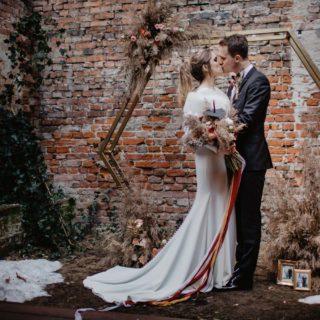sesja ślubna stylizowana Wiktorii i Roberta w Arthotel Warszawa
