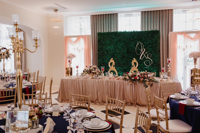 dekoracje Pałac Suchary, studio dekora - fotografia ślubna