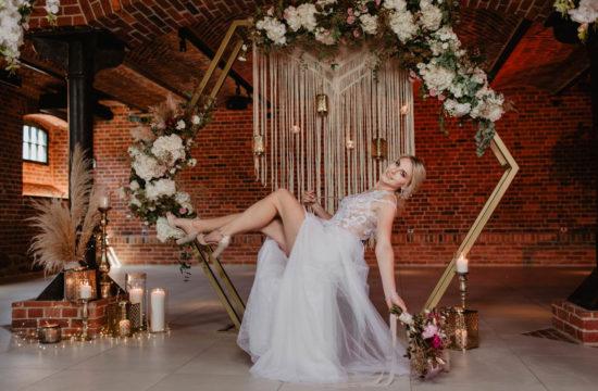 Sesja ślubna w Hotelu Gorzelnia