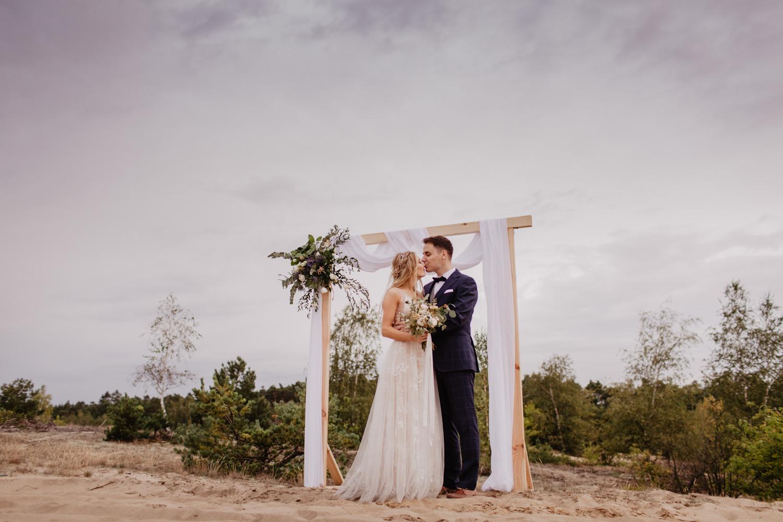Sesja ślubna malowana na piasku | Sylwia i Kuba