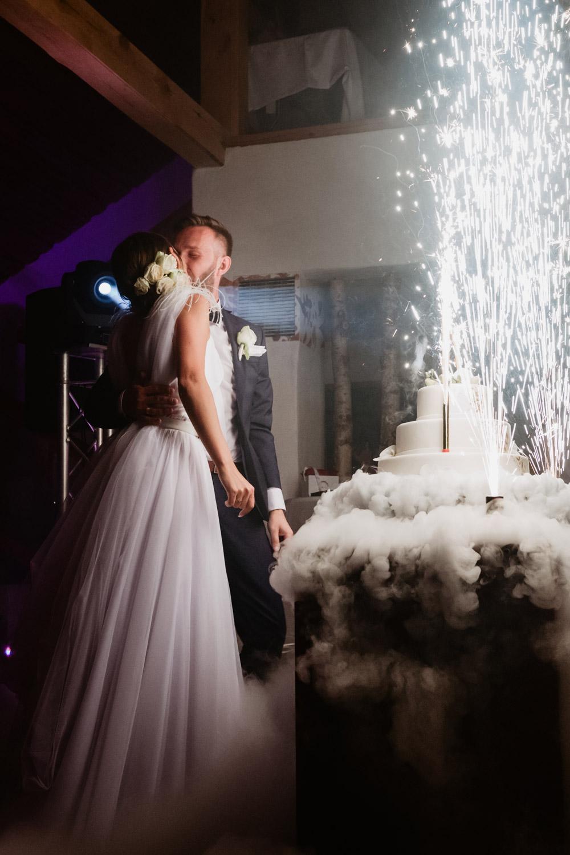 wesele Bydgoszcz Hulanka tort