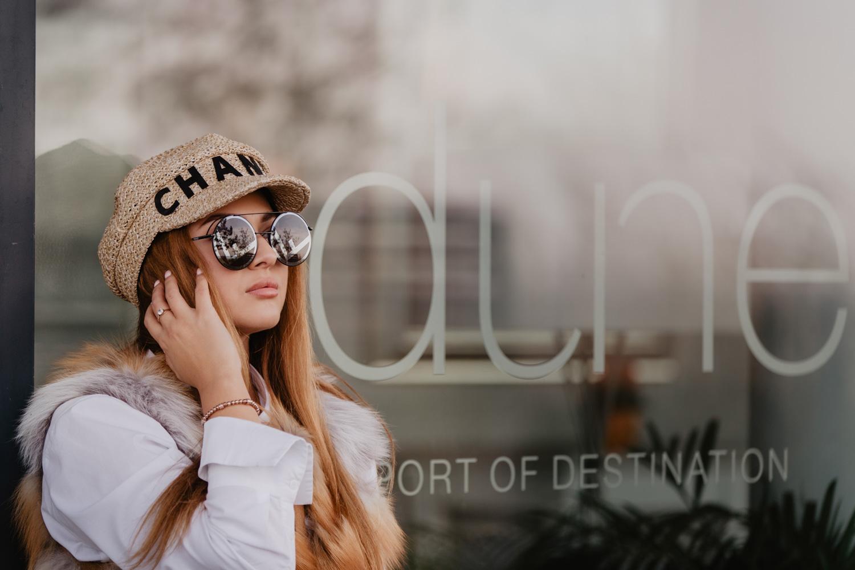 sesja modowa, fotografia fashion, sesja nad morzem, modelka nikola_smile