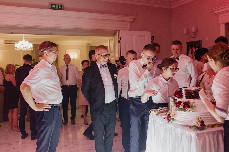 fotografia ślubna, wesele Pałac Młodocin