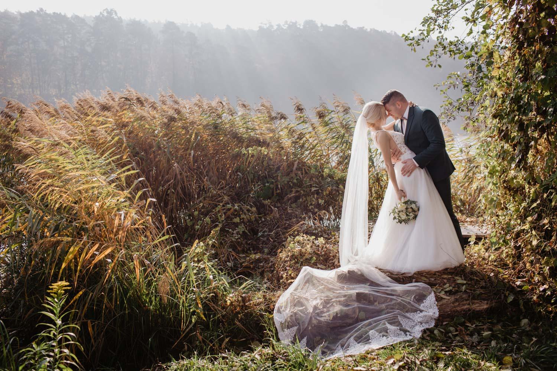 sesja ślubna w Ziołowej Oranżerii - fotografia ślubna
