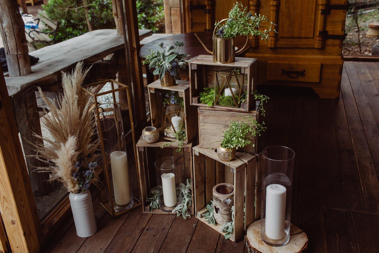 Dekoracje w stodole Bożenkowo