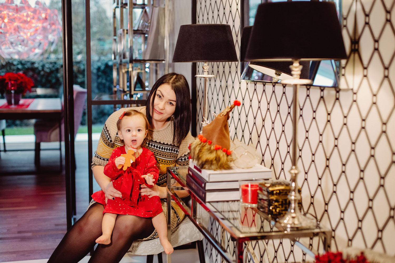 Lifestylowa sesja świąteczna w Waszym domu | Mia