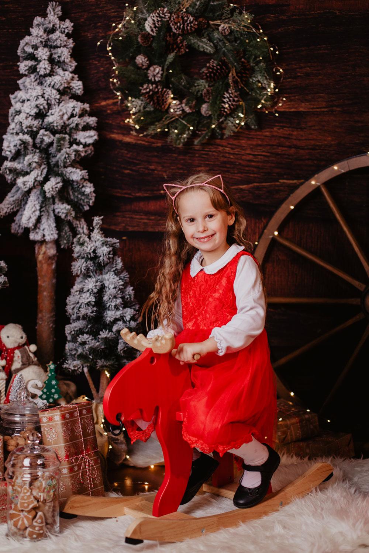Sesje świąteczne | Boże Narodzenie | Helenka, Marysia, Franio, Nadia i Ninka