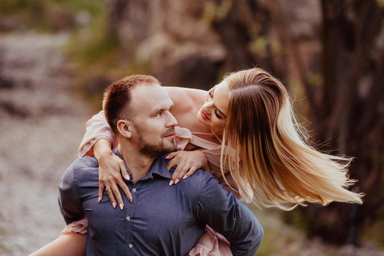 sesja narzeczeńska w Myślęcinku | Zuza i Jarek | fotografia ślubna