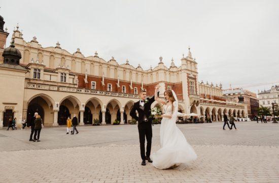 vŚlub w Krakowie i sesja na Starym Rynku | Karolina i Mateusz