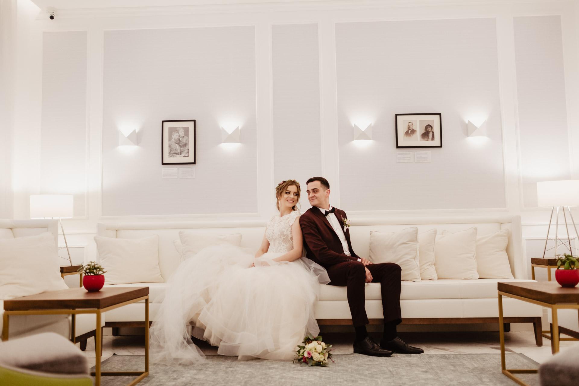 Sesja ślubna Pałac Komierowo | Aleksandra i Krzysztof