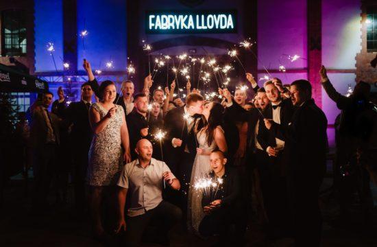Kosmiczne wesele w Fabryce Lloyda | Weronika i Marek