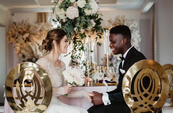 Sesja ślubna w Pałacu Komierowo - Karolina i Niamba