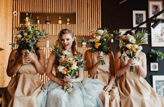 Sesja ślubna i wesele w LA ROSA | sesja stylizowana