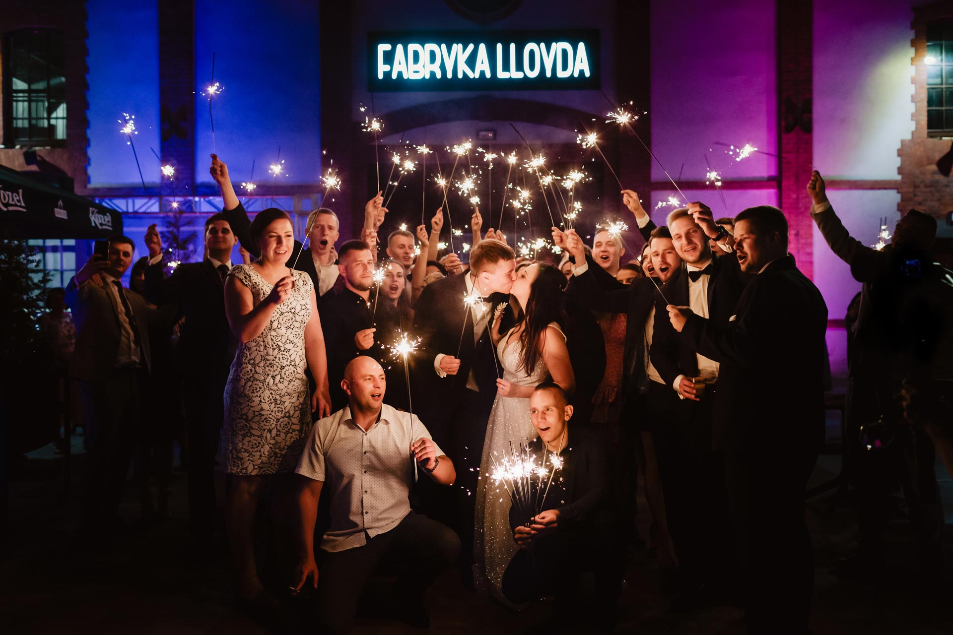 Kosmiczne wesele w Fabryce Lloyda   Weronika i Marek
